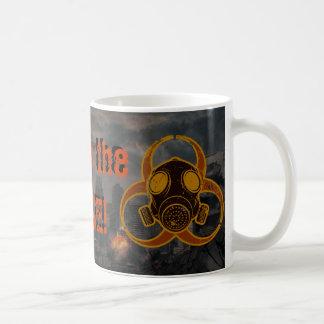 Café apocalíptico taza