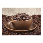 Café asombroso invitación 12,7 x 17,8 cm