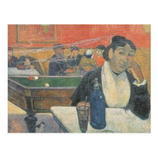 Cafe at Arles, 1888 Postcard