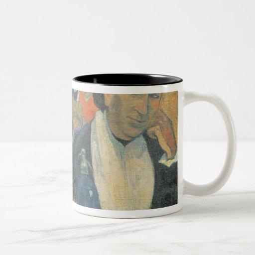 Cafe at Arles, 1888 Two-Tone Coffee Mug