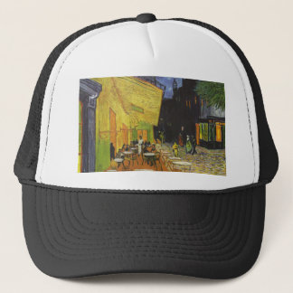 Cafe at Night by Vincent Van Gogh Trucker Hat