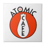 Café atómico azulejos cerámicos