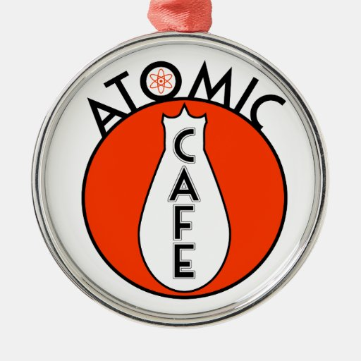 Café atómico ornamentos para reyes magos