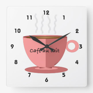 Cafe au Lait Clock