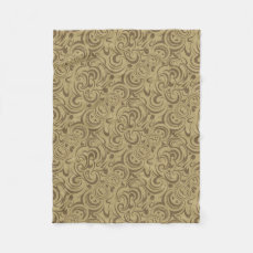 Café Au Lait Fleece Blanket