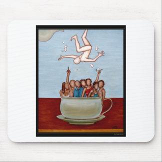 Cafe au Lait Mouse Pad