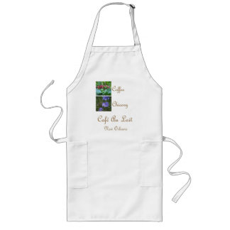 CAFE AU LAIT NEW ORLEANS COFFEE CHICORY APRONS