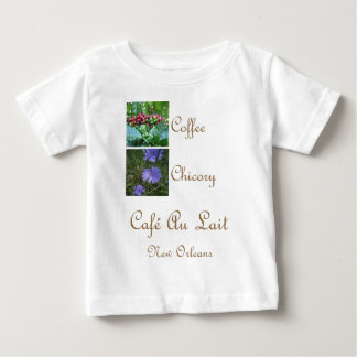 CAFE AU LAIT NEW ORLEANS COFFEE CHICORY BABY T-Shirt
