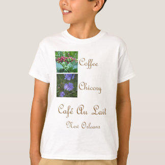 CAFE AU LAIT NEW ORLEANS COFFEE CHICORY T-Shirt