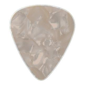 Cafe au Lait Pearl Celluloid Guitar Pick
