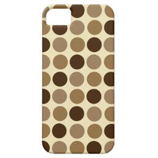Cafe Au Lait Polka Dot iPhone 5 Case