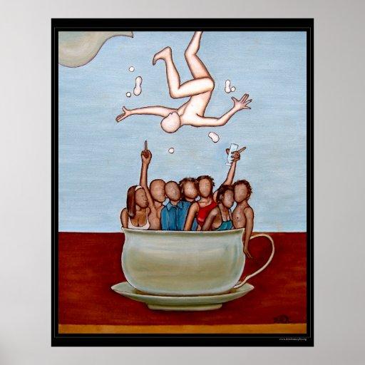 Cafe au Lait Print