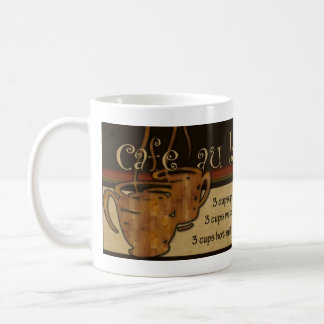 Cafe au lait Recipe Mug