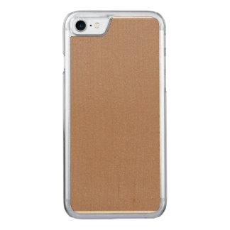 Cafe au Lait Star Dust Carved iPhone 8/7 Case