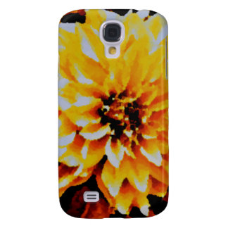 Cafe au Lait. yellow and gold tones Galaxy S4 Cover