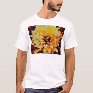Cafe au Lait. yellow and gold tones T-Shirt