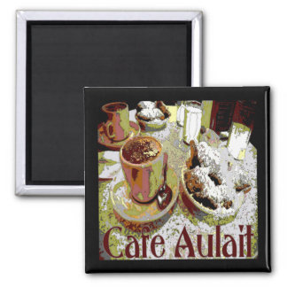Cafe Aulait, New Orleans Coffee Magnet