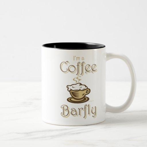 Café Barfly Taza De Dos Tonos