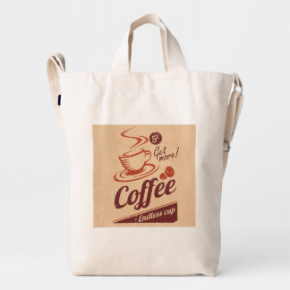 Café Bolsa De Lona Duck