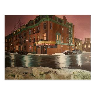 Café Boston de DeLux Tarjeta Postal