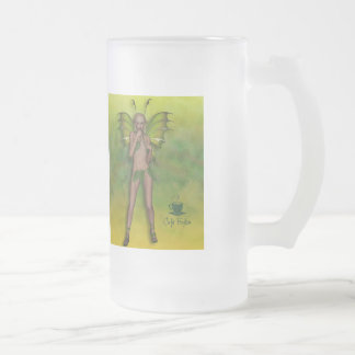 "Café Boston ""Fae"" 01 Frosted Glass Mug"