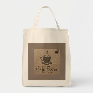 Café Boston Grocery Tote