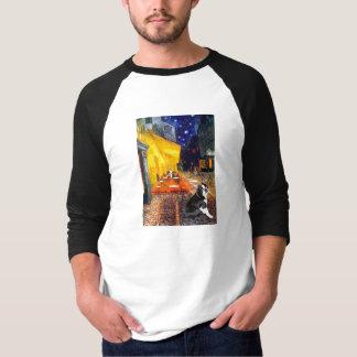 Cafe - Boston Terrier #4 T-Shirt