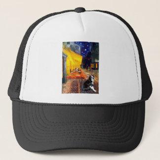 Cafe - Boston Terrier #4 Trucker Hat