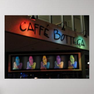 Cafe Bottega Poster
