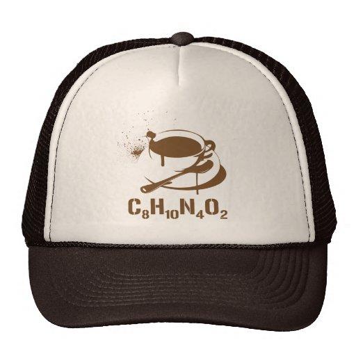 Café C8H10N4O2 Gorro De Camionero