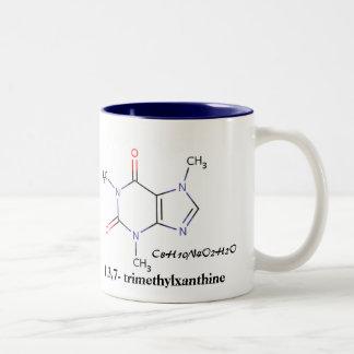 Café, C8H10N4O2H2O, 1,3,7 - trimethylxanthine Taza