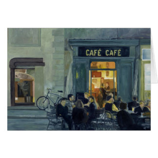 Cafe Cafe Note Cards