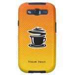 Café caliente; Amarillo-naranja Samsung Galaxy S3 Cobertura