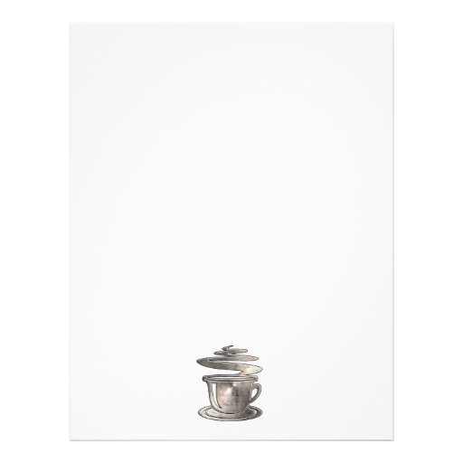 Café caliente; Fresco Membretes Personalizados
