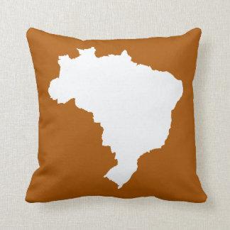 Café Caramel Festive Brazil Pillow