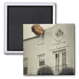 Cafe Chocolat Fridge Magnet