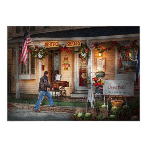 Cafe - Clinton, NJ - Bistro Bakery Personalized Invite