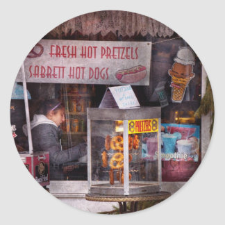 Cafe - Clinton, NJ - The luncheonette Classic Round Sticker