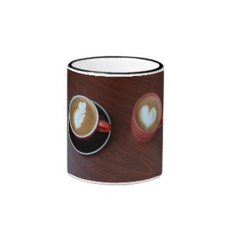 Cafe Coffee Mug, Rincon, Puerto Rico Ringer Coffee Mug
