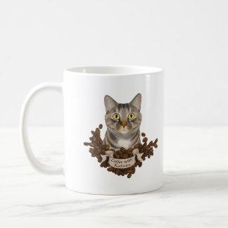 Café con charla a la pata taza