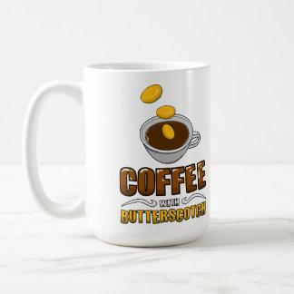 ¡Café con la taza del caramelo!