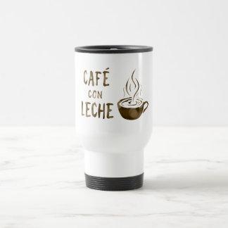 cafe con leche bokeh travel mug