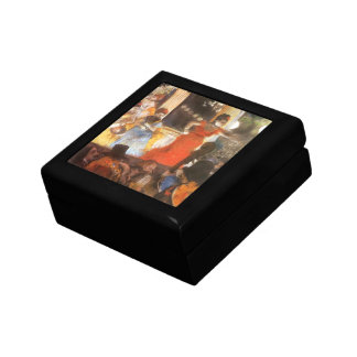 Cafe Concert at Les Ambassadeurs by Edgar Degas Jewelry Box