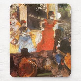 Cafe Concert at Les Ambassadeurs by Edgar Degas Mouse Pad