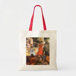 Cafe Concert at Les Ambassadeurs by Edgar Degas Tote Bag