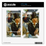 Cafe Concert by Edouard Manet Decal For HTC Aria