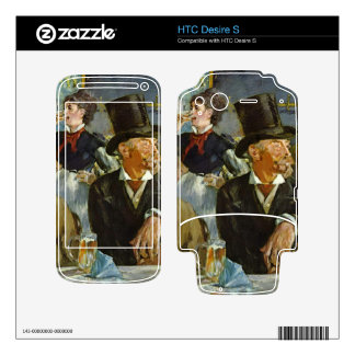 Cafe Concert by Edouard Manet Skin For HTC Desire S