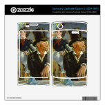 Cafe Concert by Edouard Manet Samsung Captivate Decal