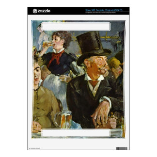 Cafe Concert by Edouard Manet Xbox 360 Decal