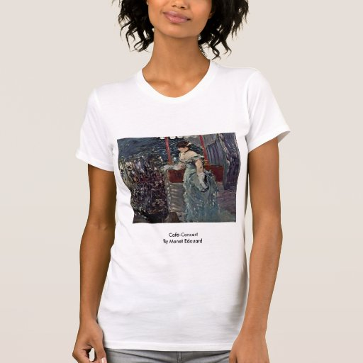 Café-Concert By Manet Edouard Shirts